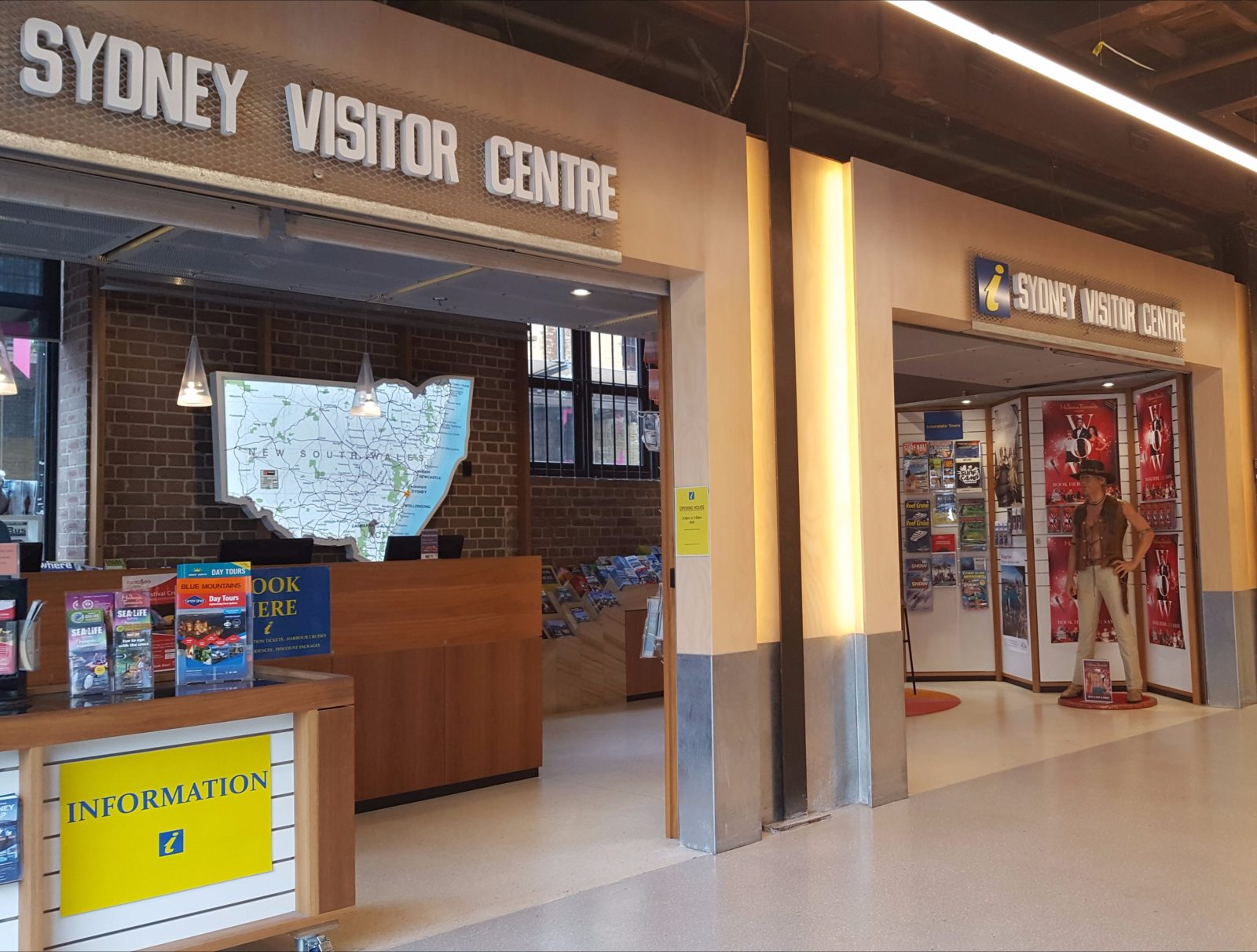 Sydney Visitor Centre at The Rocks