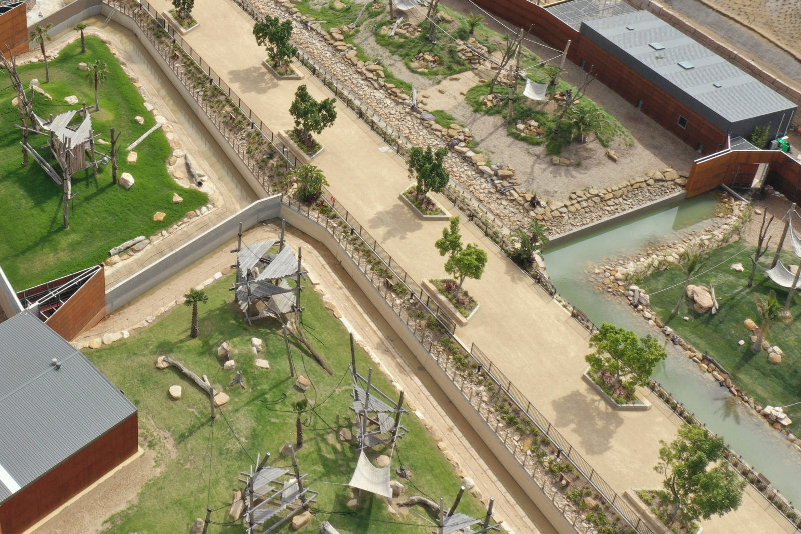 Aerial Shot of Sydney Zoo