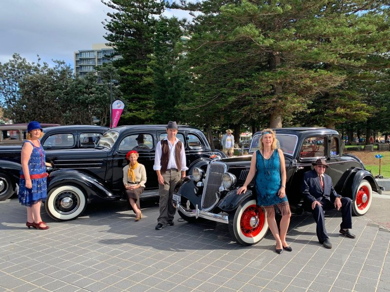 Pre WWII Cars at Cronulla