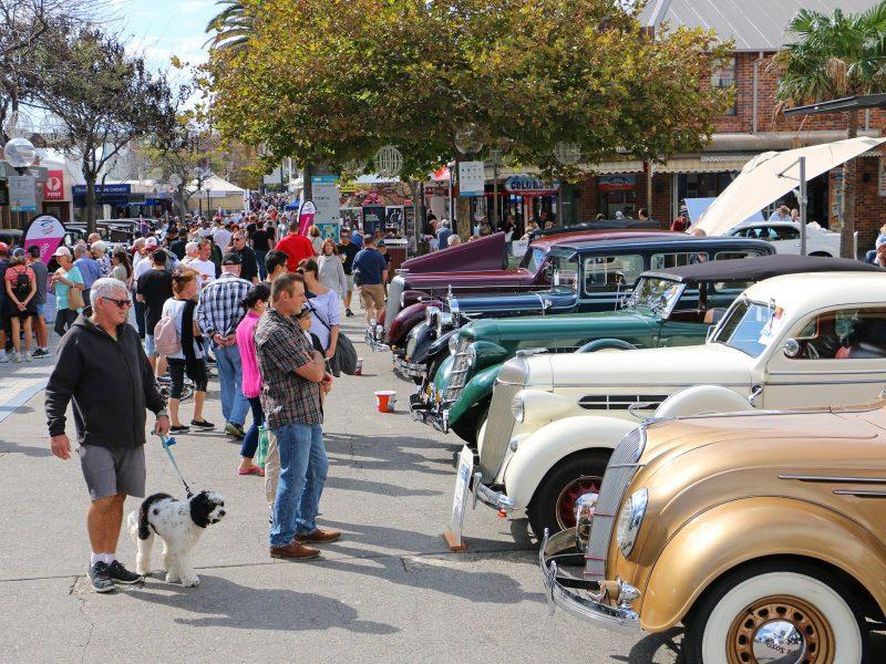 Pre WWII Car Show Cronulla Plaza