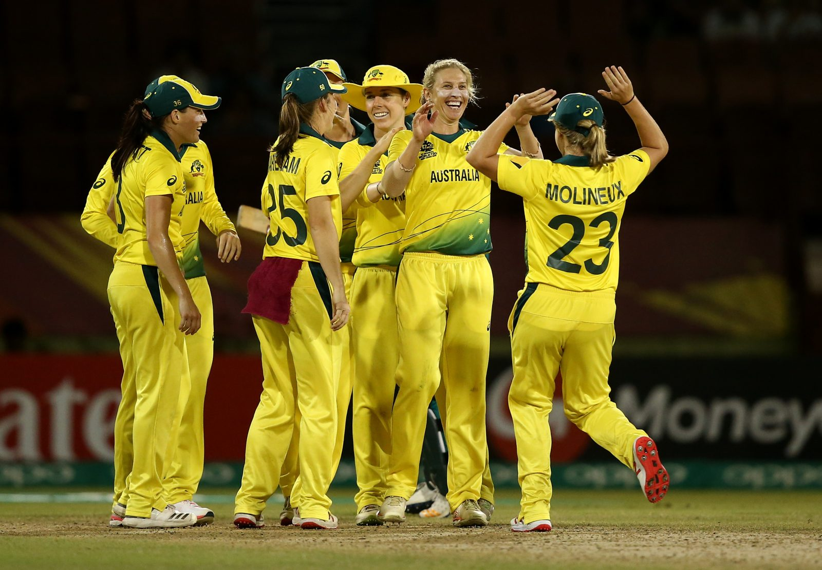 T20 World Cup Women S Opening Celebration And Match