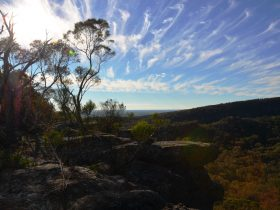 Spectacular view from the Table Top Mountain Glamping Retreat