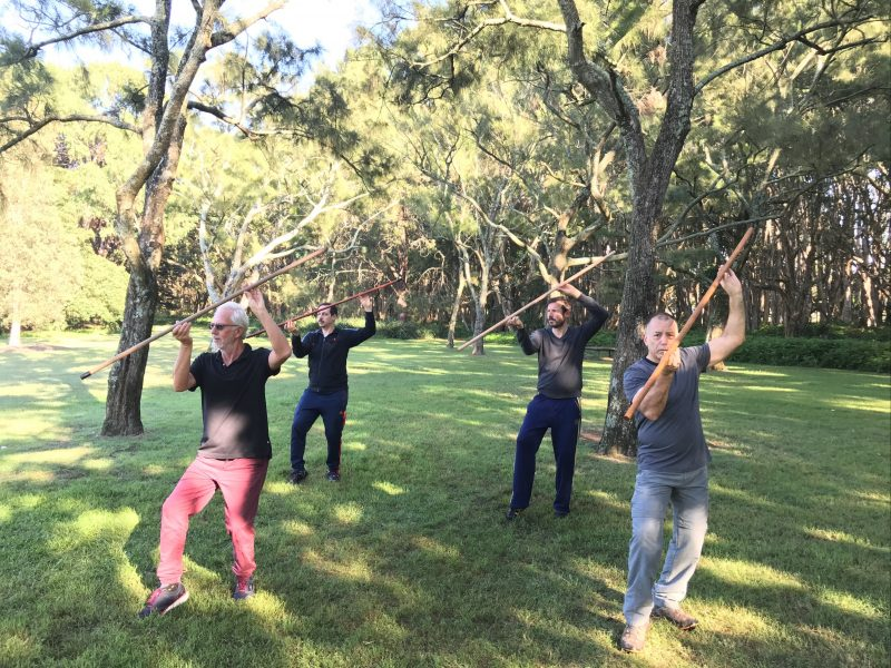 ta-chi clases and training near the labyrinth in centennial park sydney