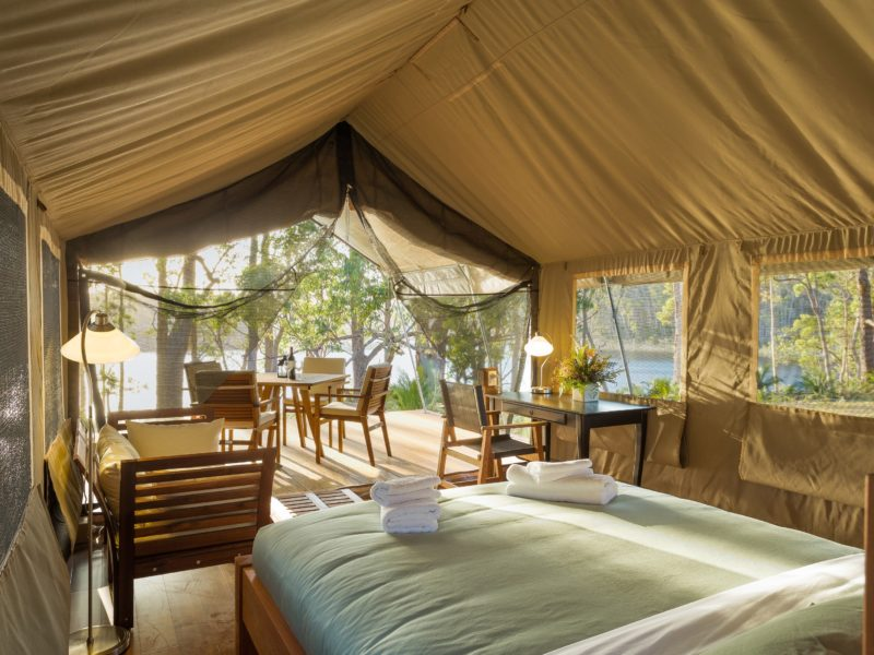 Tanja Lagoon Camp Safari Tent Room