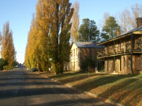 Taralga stone house and road
