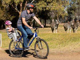 Bike riding, Taronga Western Plains Zoo, Dubbo