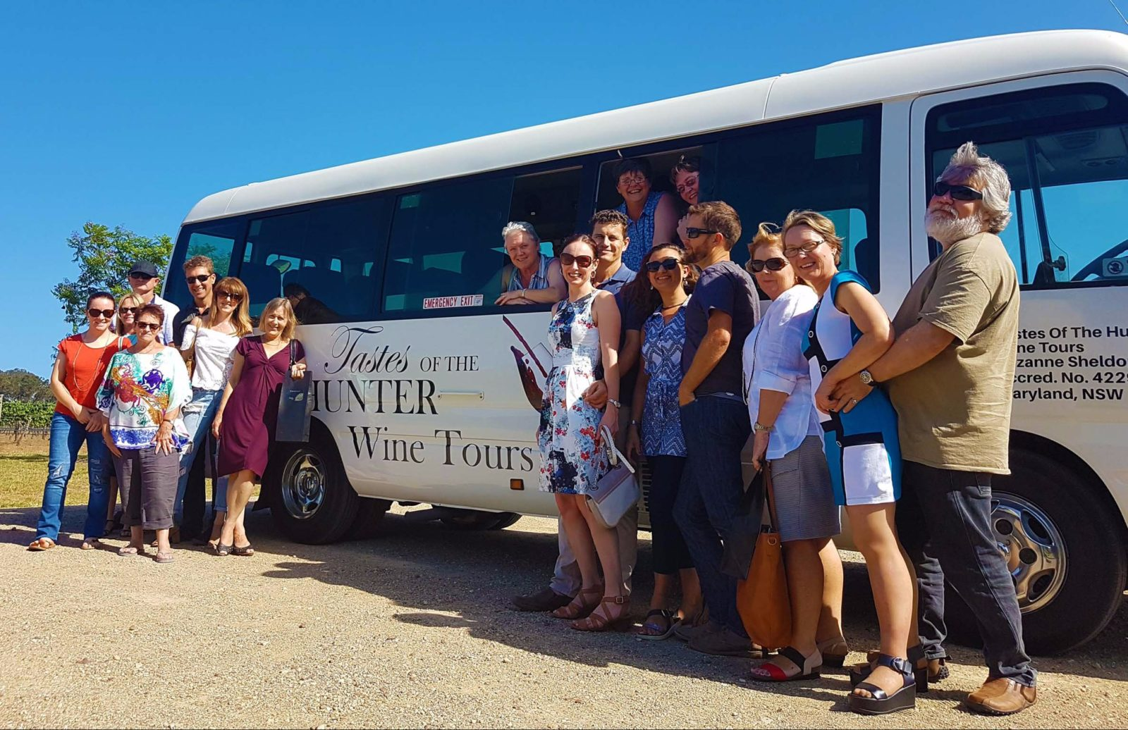 Tastes Of The Hunter Wine Tours at Capercaillie Wines