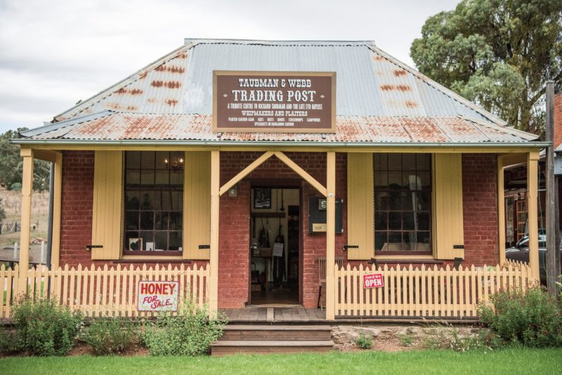 Taubman and Webb Trading Post