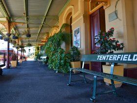 Tenterfield Railway Platform