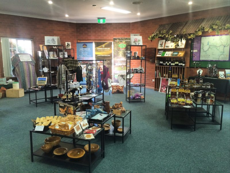 Giftshop at Tenterfield Visitor Centre