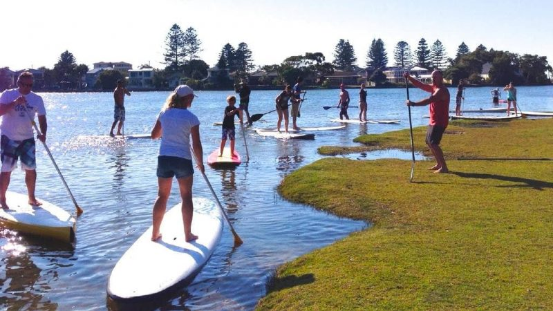 Learn Stand Up Paddleboard