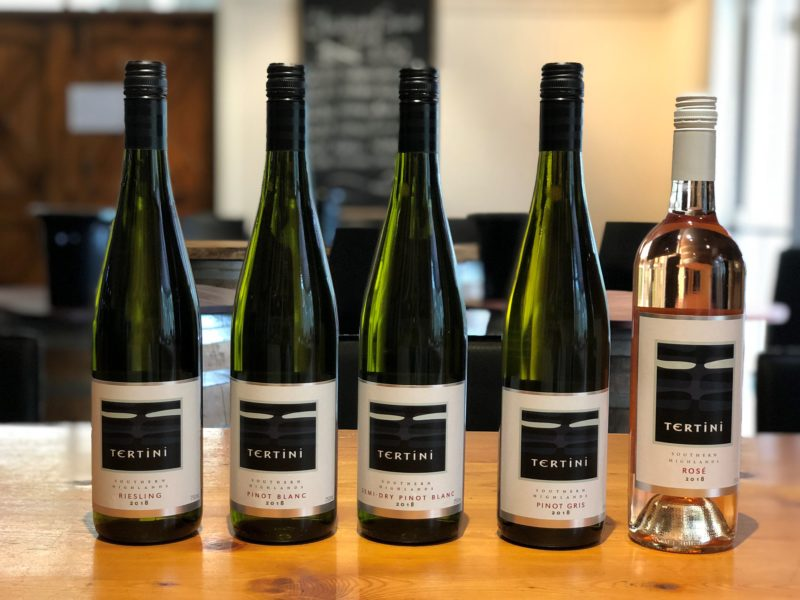 Tertini Wines 2018 Collection