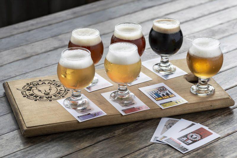 Badlands Brewery Beer Tasting