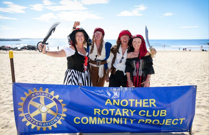 Pirates invade Town Beach
