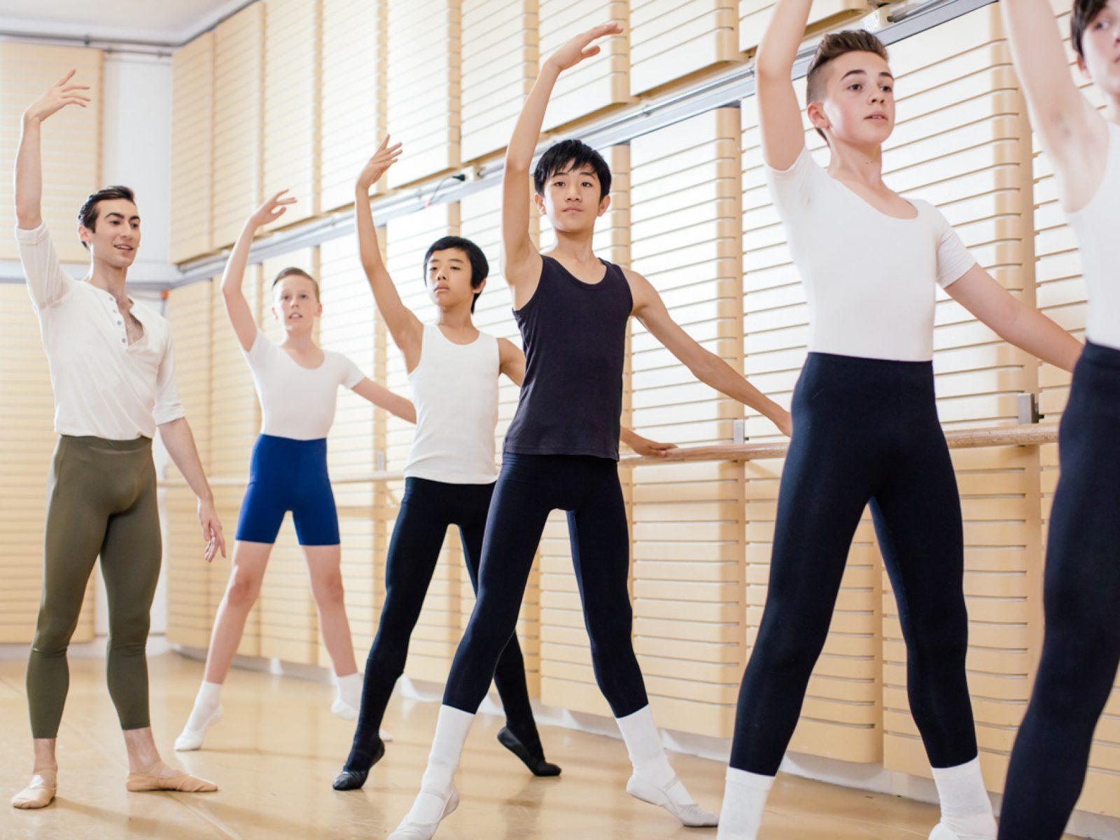 The Australian Ballet Boys Day