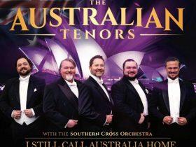 Five male tenor singers