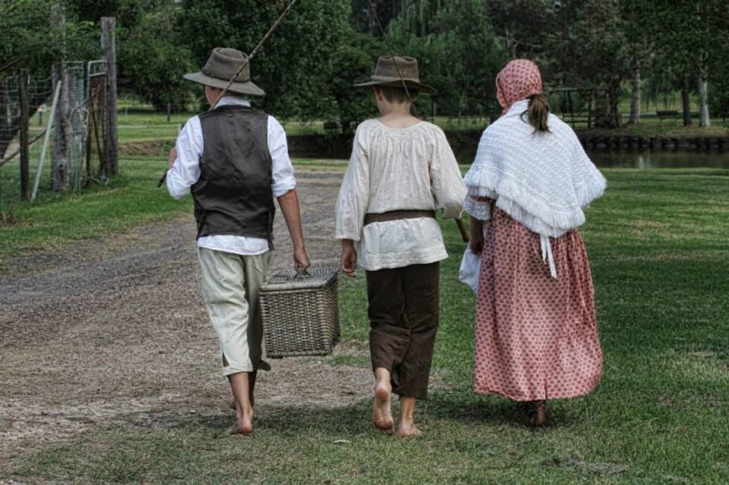 Relax at The Village - re-enactments of times past