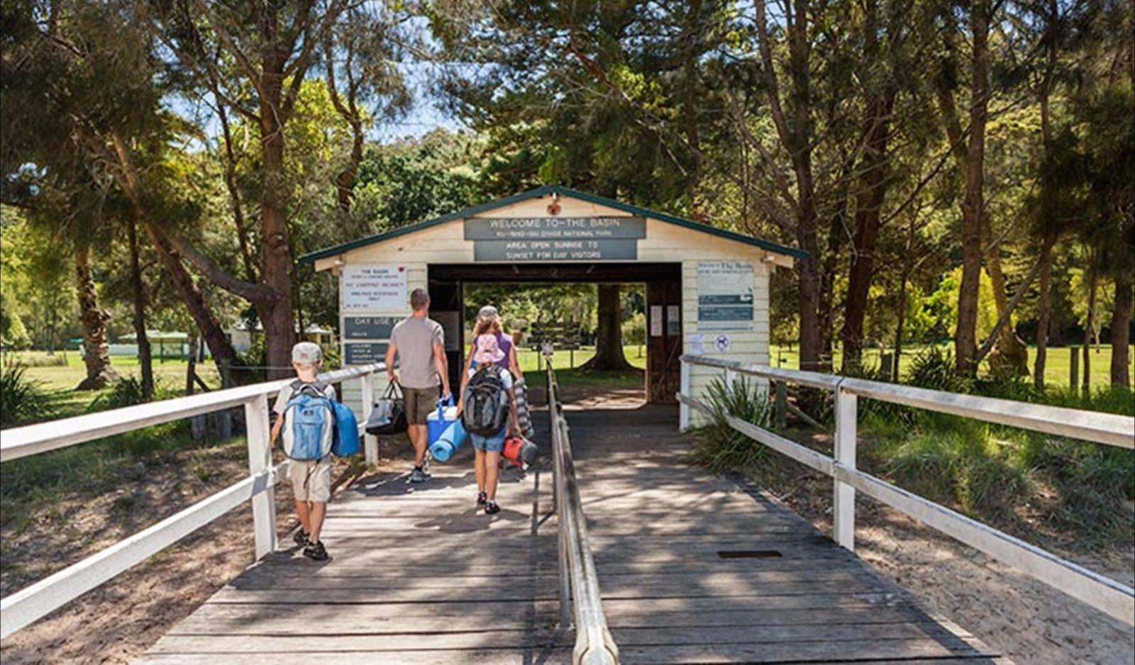 The Basin Campground Ku-ring-gai National Park