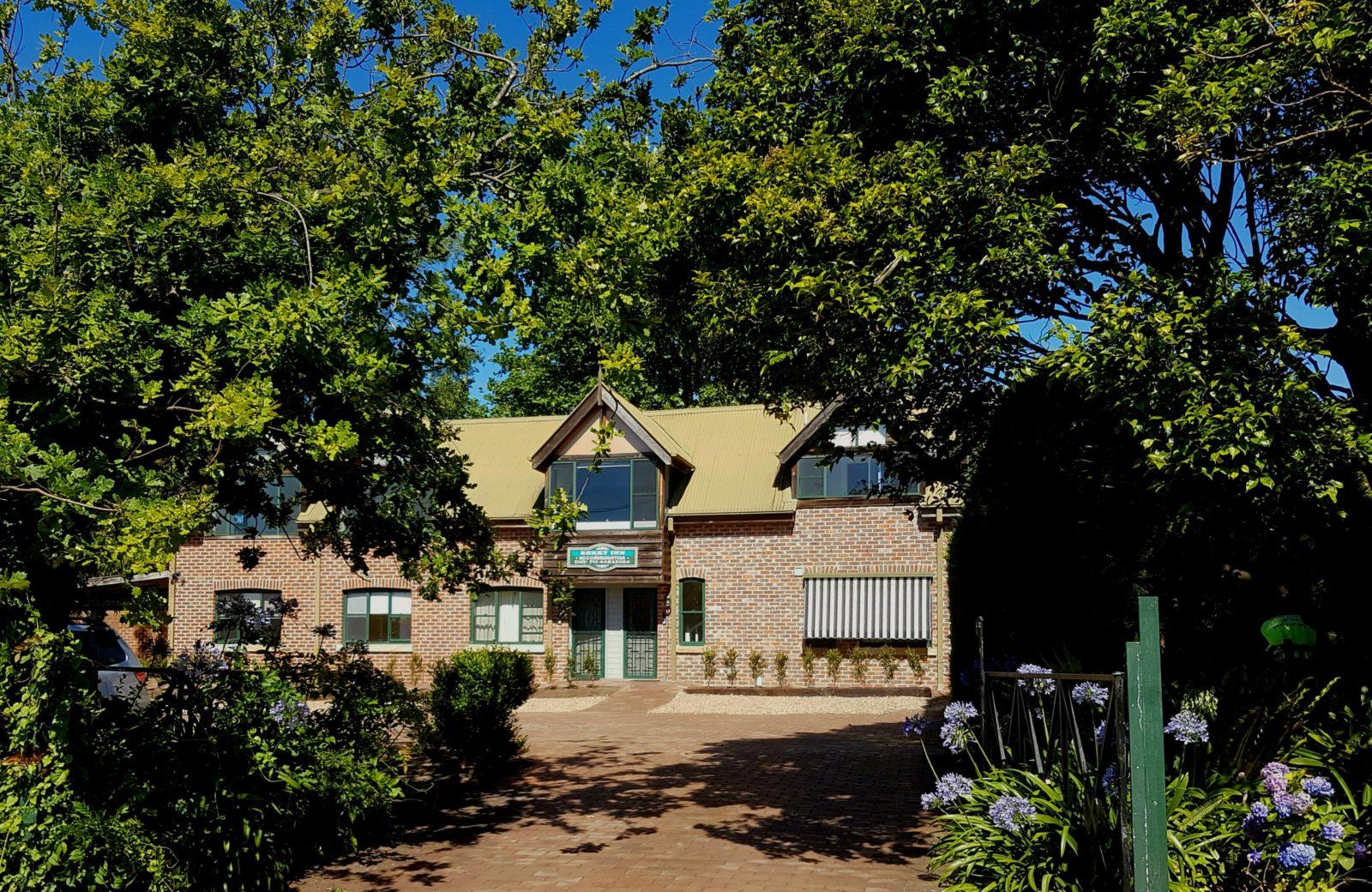 The Berry Inn Facade