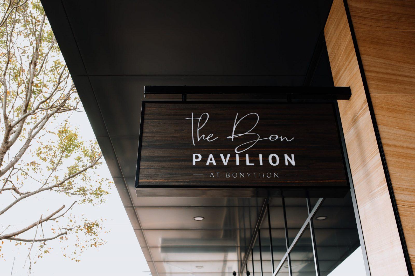 Food and beverages at The Bon Pavilion
