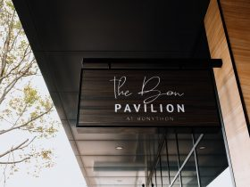 Food and beverages at The Bon Pavilion