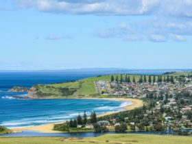 entry point, Boat Harbour is located just behind the Southern Headland of Werri Beach