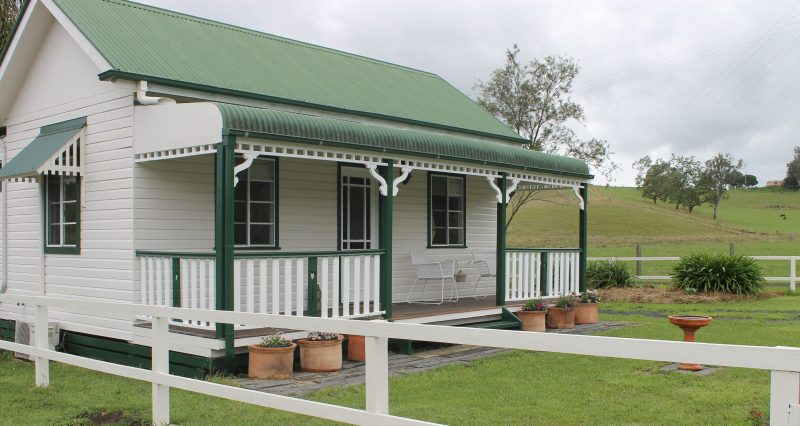 South verandah