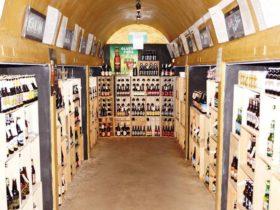 Beer Tunnel at Garden Cellars