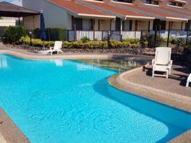 16 metre salt water pool