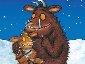 Gruffalo with child