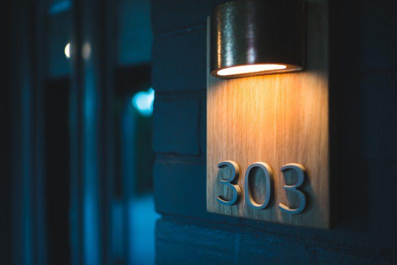 Suite number