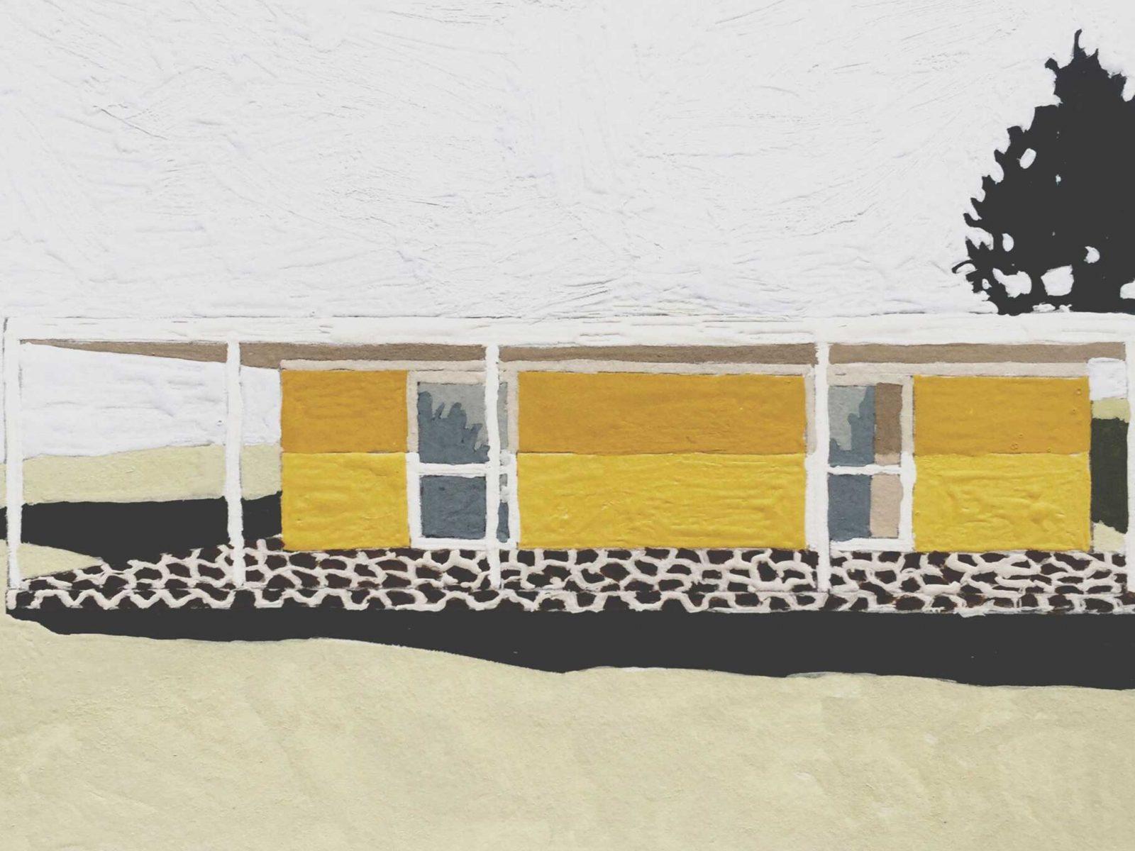 Artwork of yello house