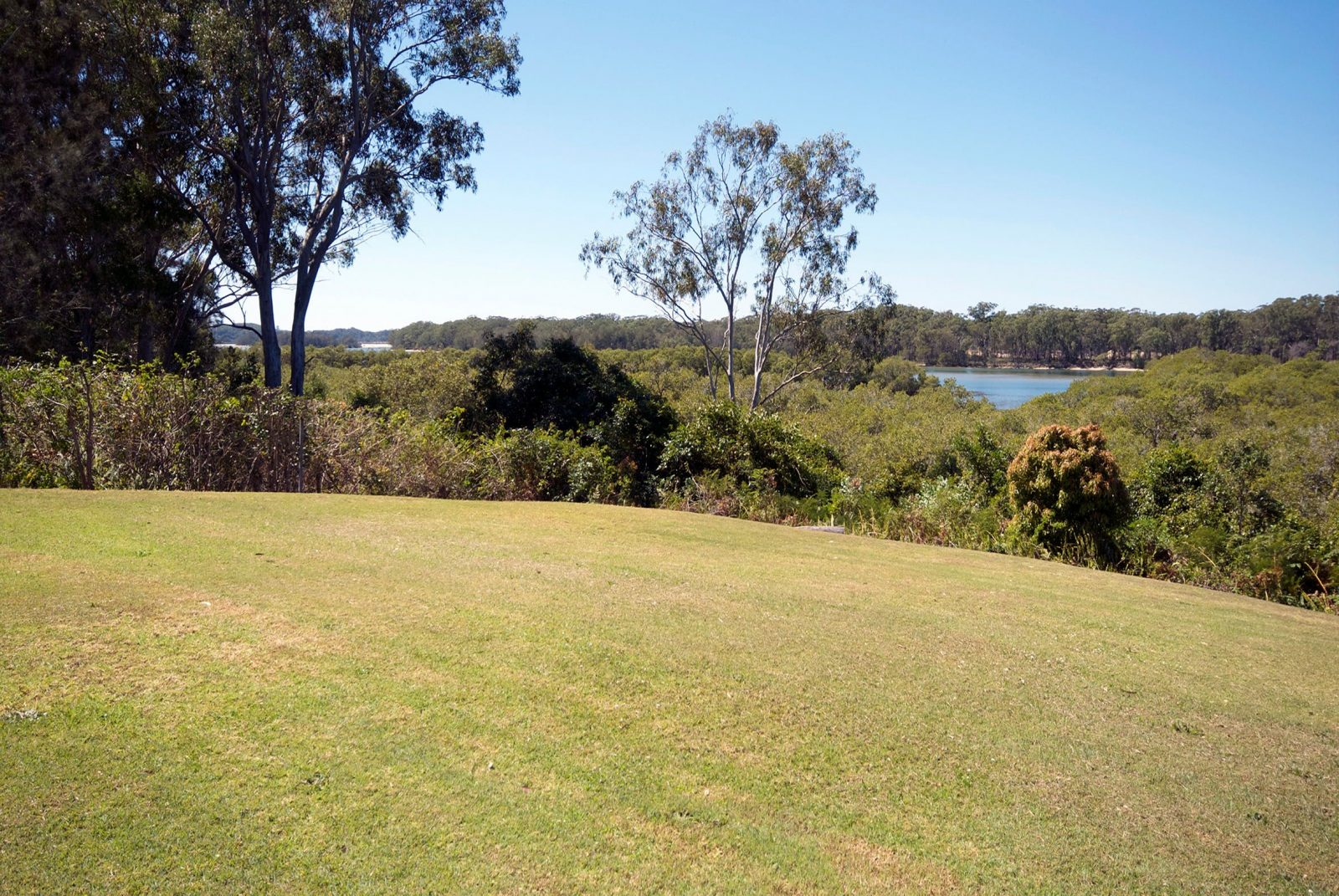 Rear view from property towards the Nambucca River
