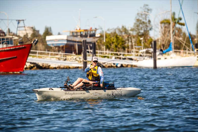Fishing on the Clarence River with The Kayak co.