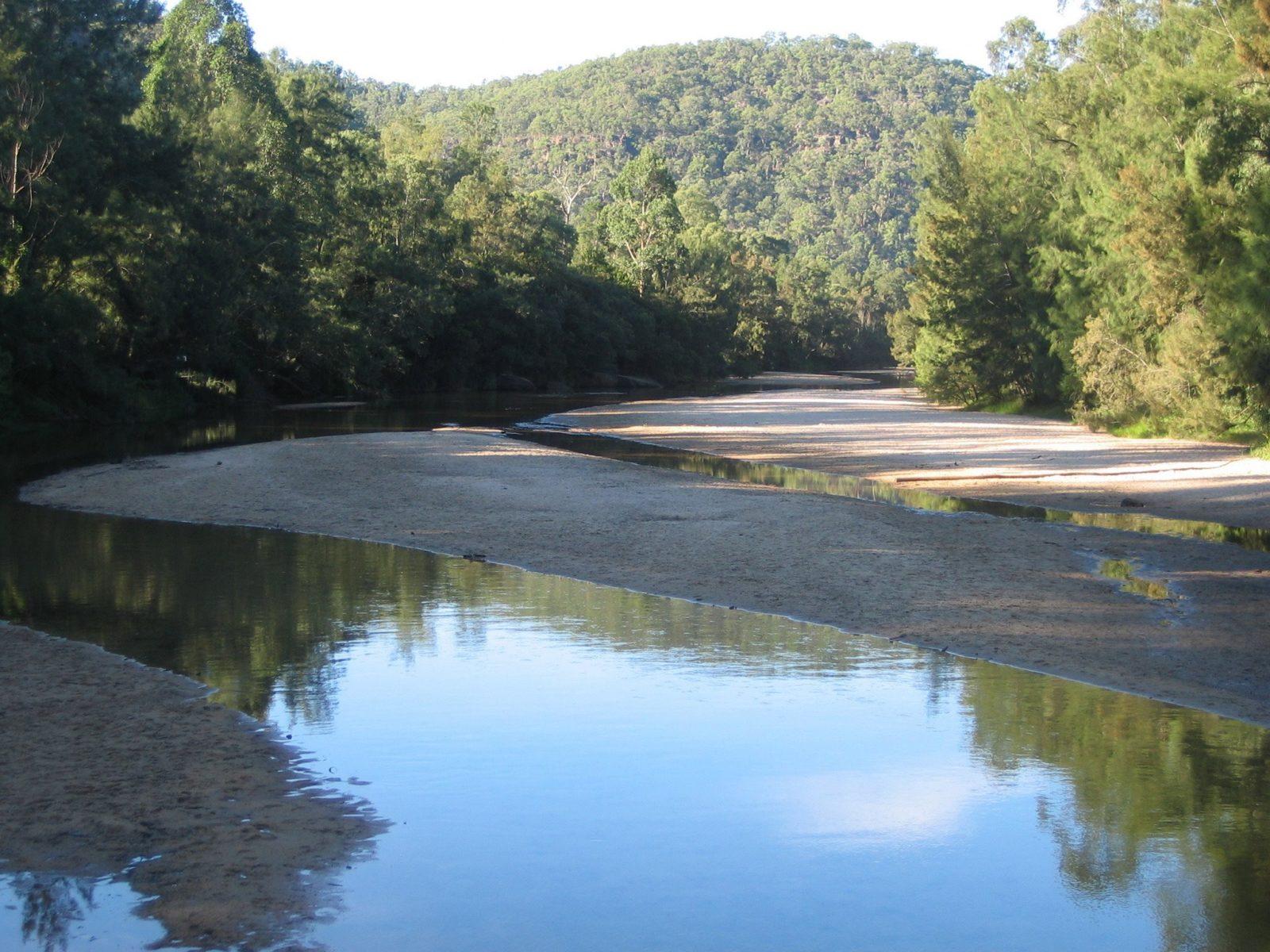 The beautiful Upper Colo River
