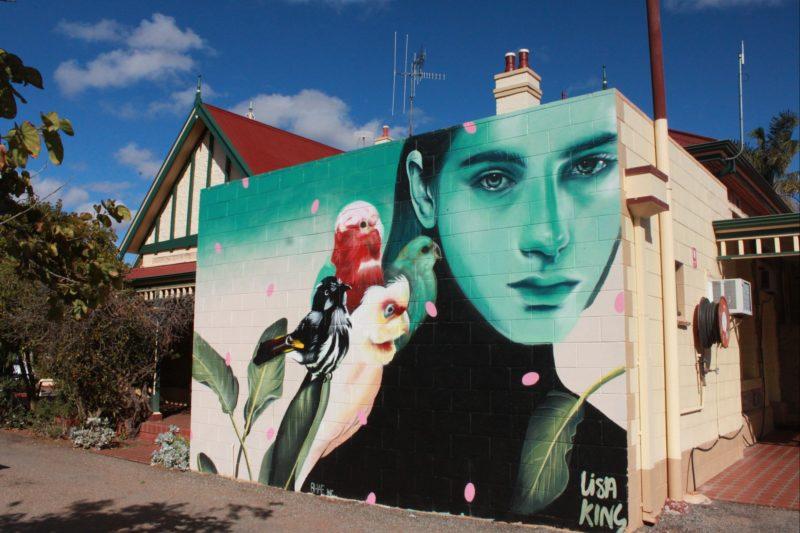 Mural by Lisa King