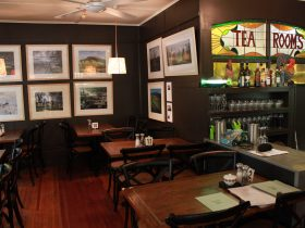 Megalong Valley Tearooms interior