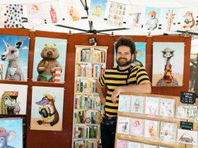 Olive Tree Market Stallholder Beau Wiley