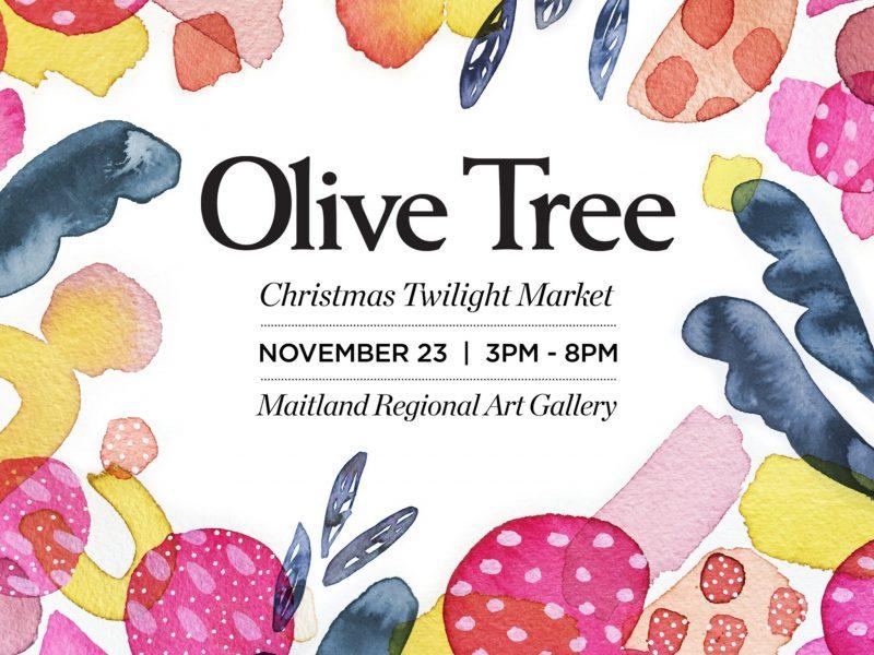 The Olive Tree Christmas Twilight Market