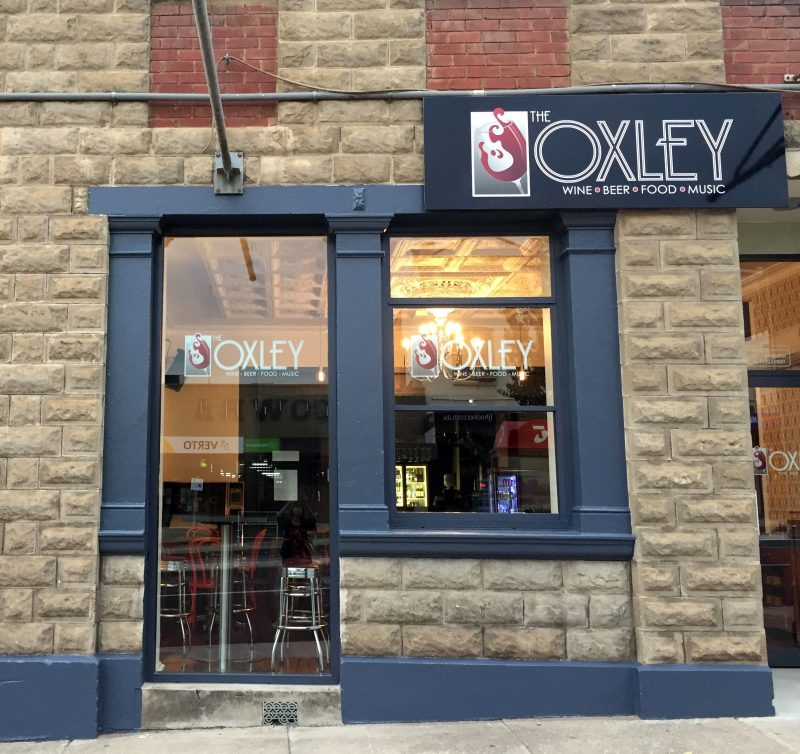 Exterior of the Oxley Wine Bar in Cowra
