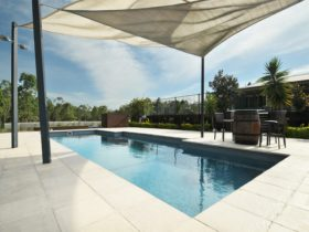 Fantastic pool at The Ponderosa