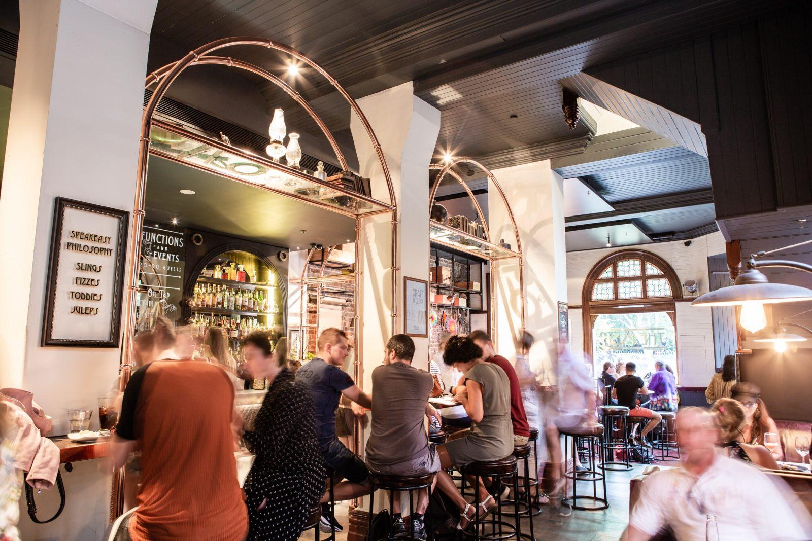 Group cocktail bar weekend girls
