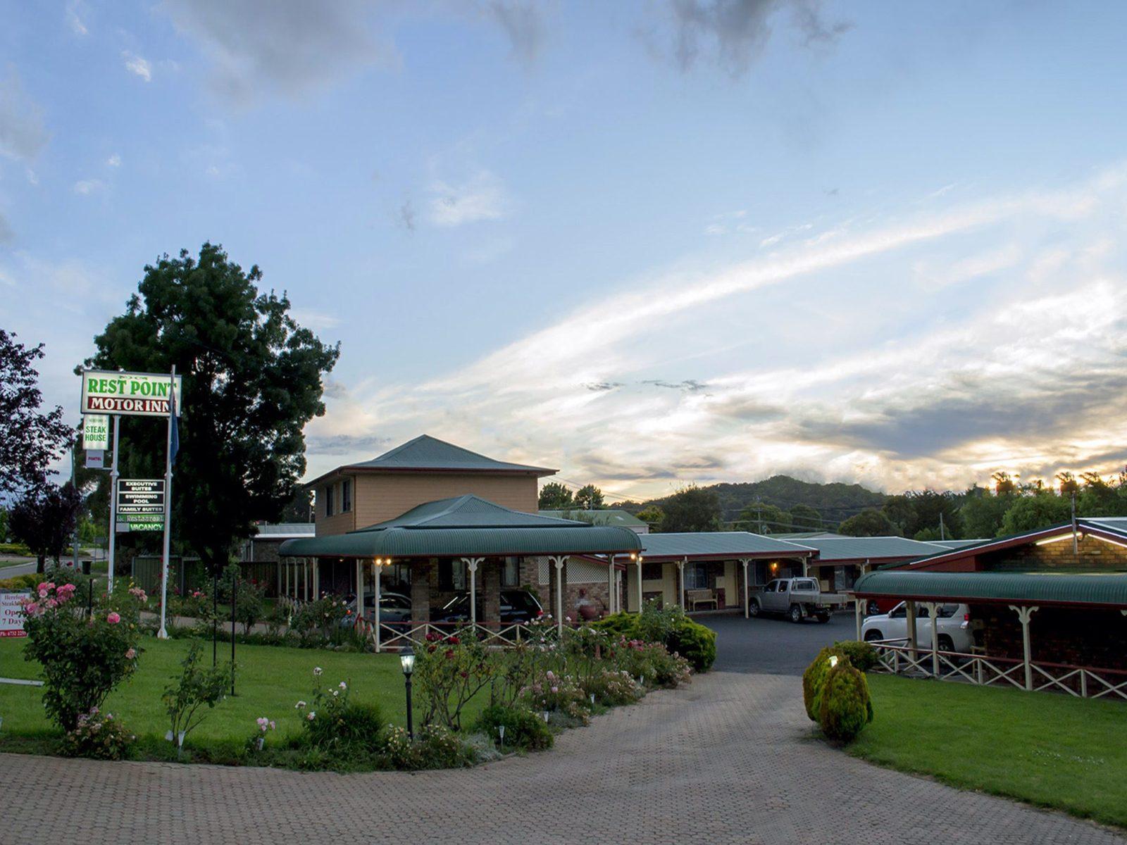 Rest Point Motor Inn and Hereford Steakhouse