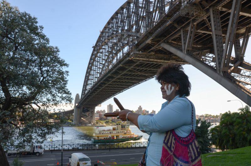Aboriginal Elder Sharing Culture
