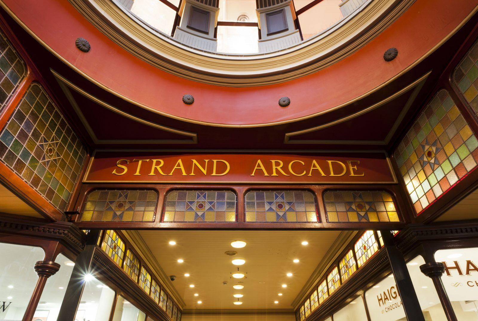 Entrance to Strand Arcade