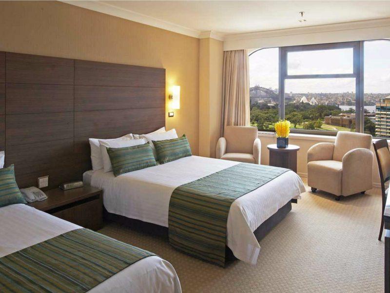 Deluxe Harbour Twin Room