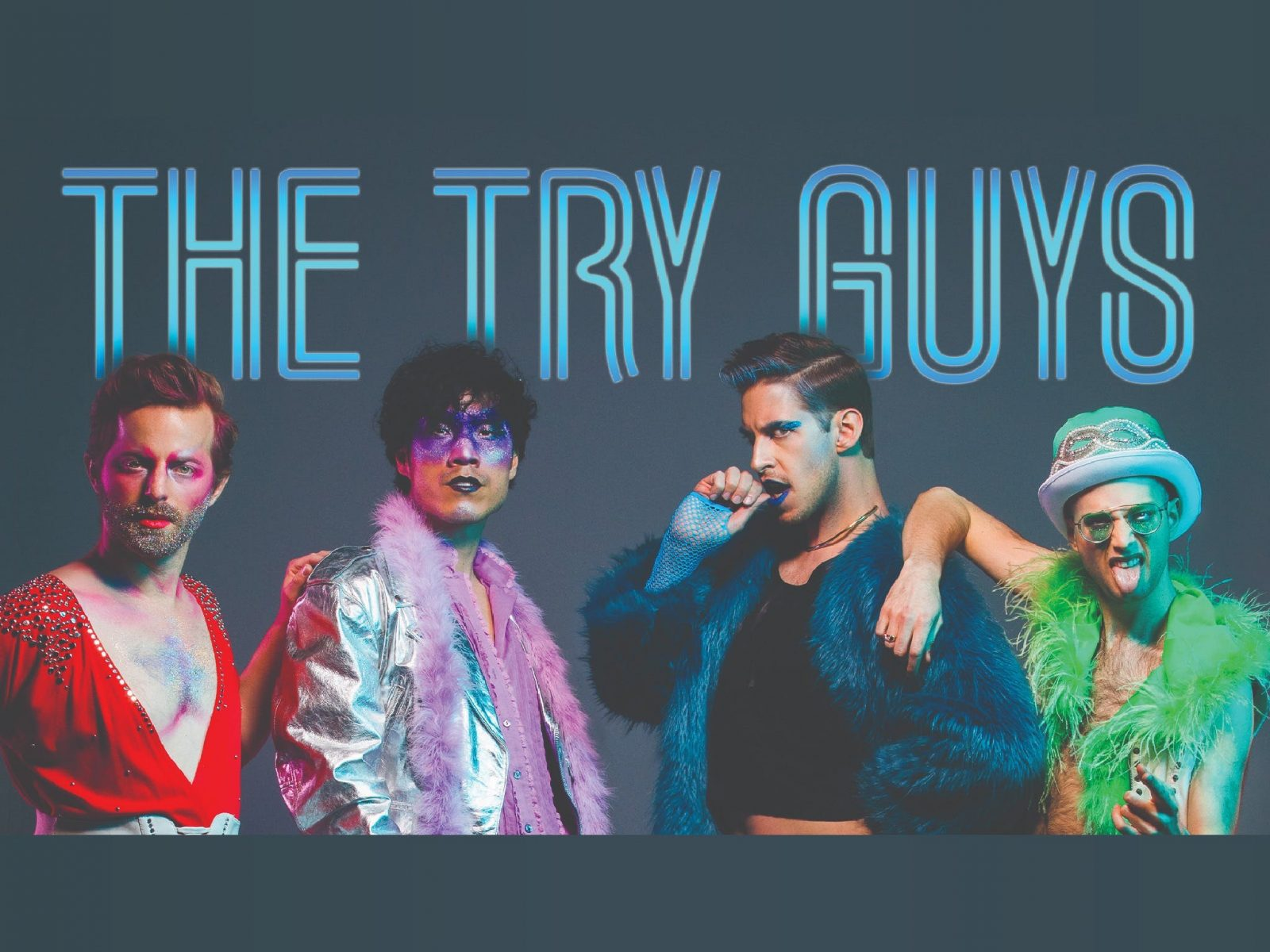 The Try Guys - Keith Habersberger, Ned Fulmer, Zach Kornfeld and Eugene Lee Yang
