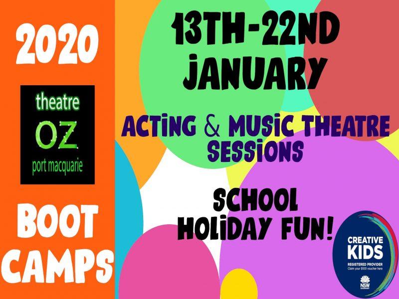 2020 Theatre Oz Bootcamps