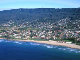 Thirroul Beach Aerial View