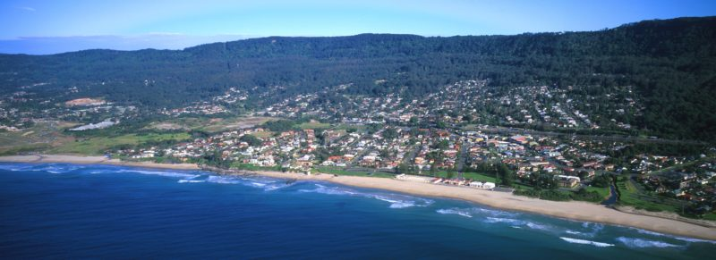 Thirroul Aerial View